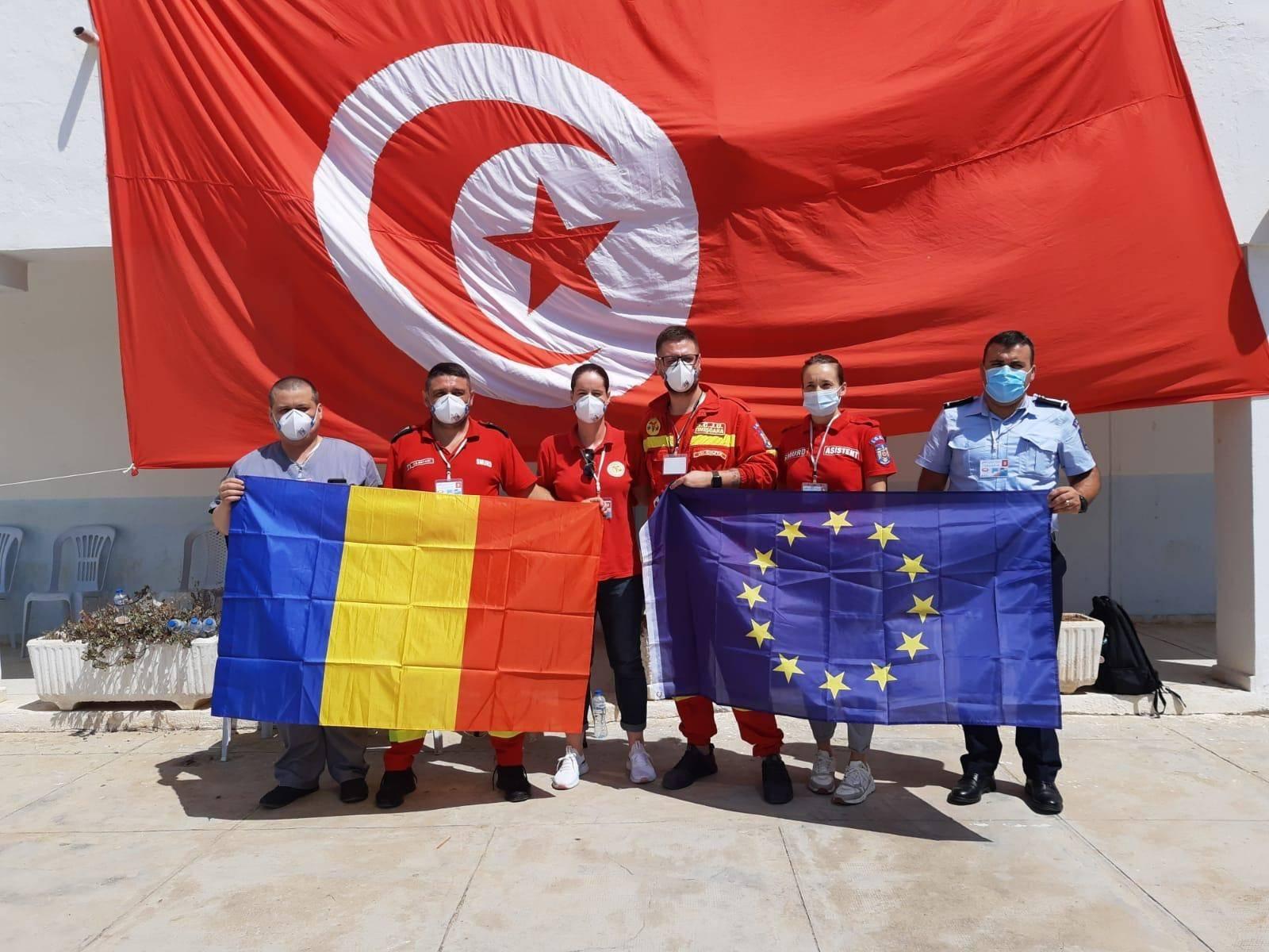 Misiune umanitară a României, în Tunisia! O echipă de români va interveni în această țară timp de 21 de zile