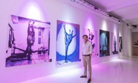 La vernisajul primei sale expoziții de pictură, Braiconf a cumpărat toate tablourile artistului plastic David Podut