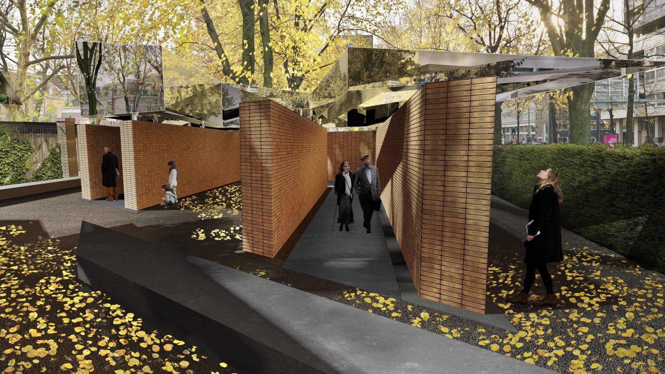 Regele Olandei a dezvelit monumentul dedicat celor 102.000 de victime ale holocaustului olandez