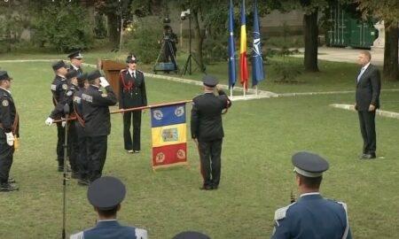 VIDEO. Ceremonial emoționant! Klaus Iohannis i-a decorat pe pompierii implicați în stingerea incendiilor din Grecia