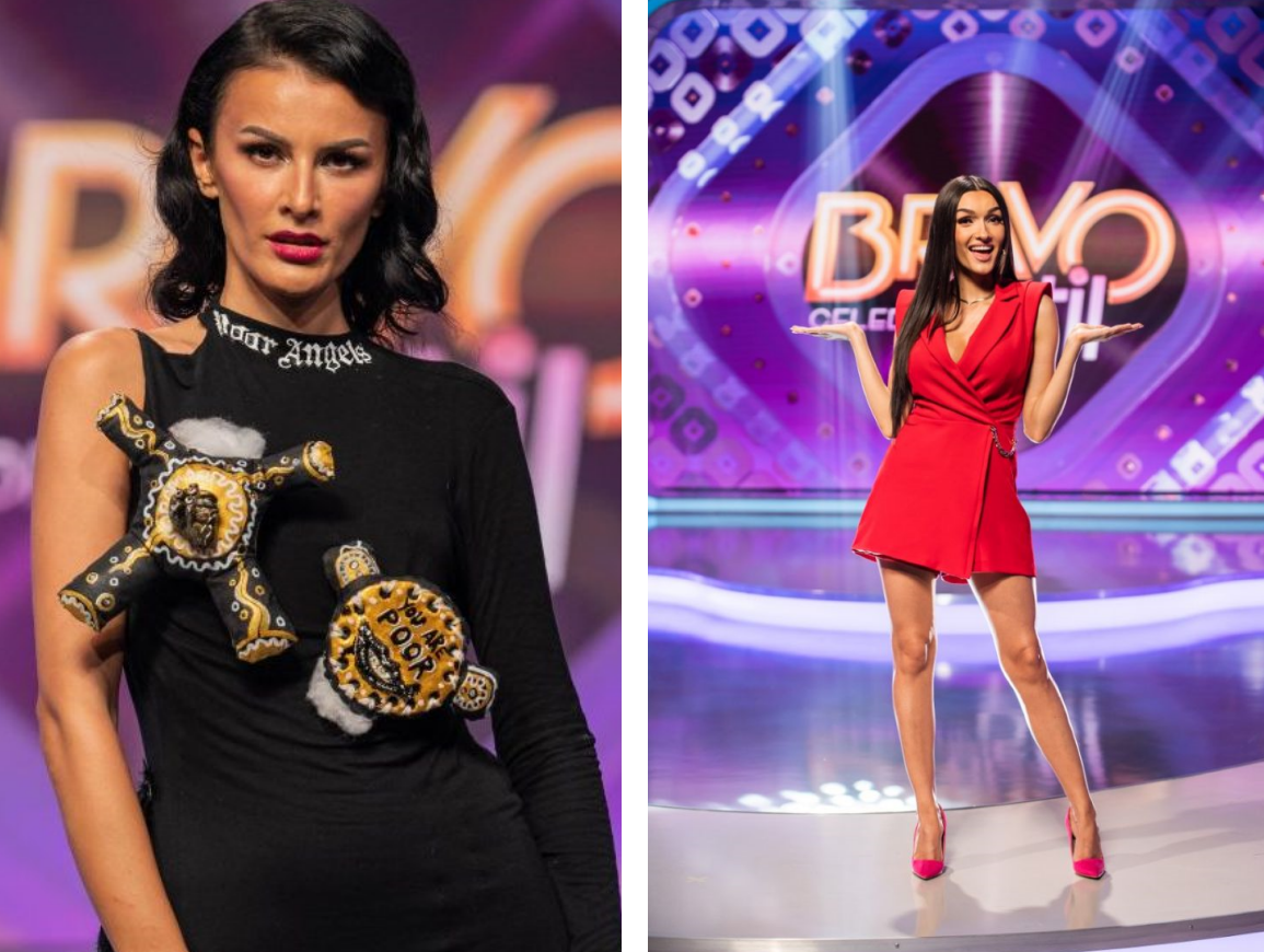 """De la ce a pornit """"războiul"""" dintre Ruxi și Viviana Sposub, cele două concurente de la """"Bravo, ai stil! Celebrities"""""""