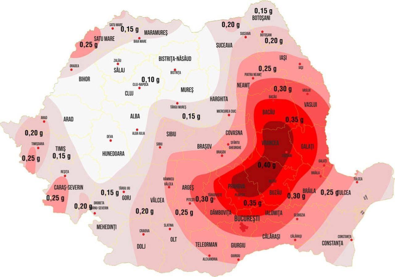 Patru cutremure semnificative au avut loc în zona Făgăraș – Câmpulung