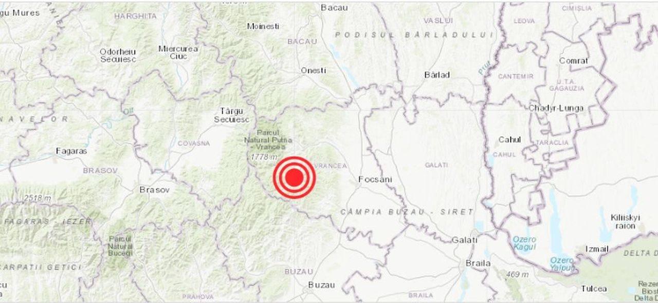 Un nou cutremur a avut loc în România, în această seară