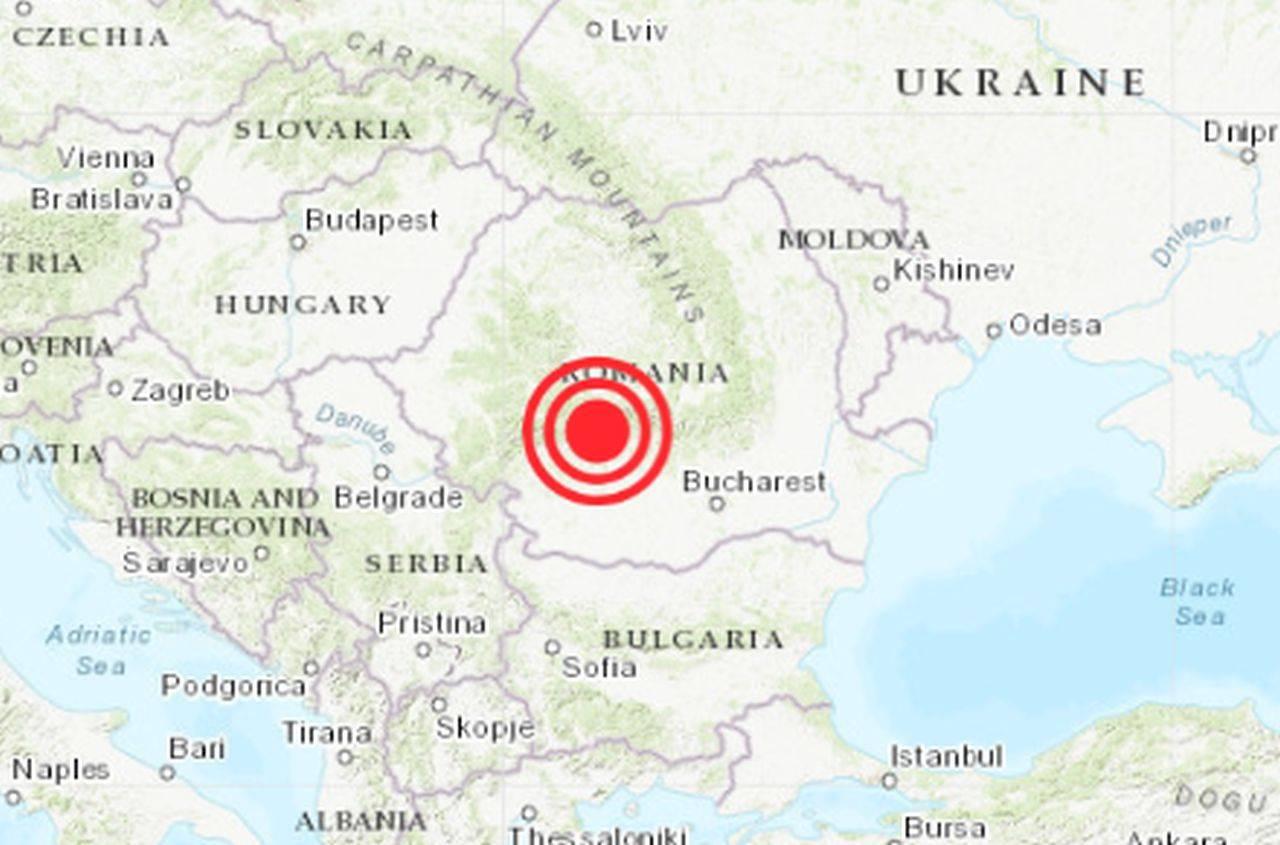 Cutremur atipic de magnitudine mare, produs în această dimineață în România
