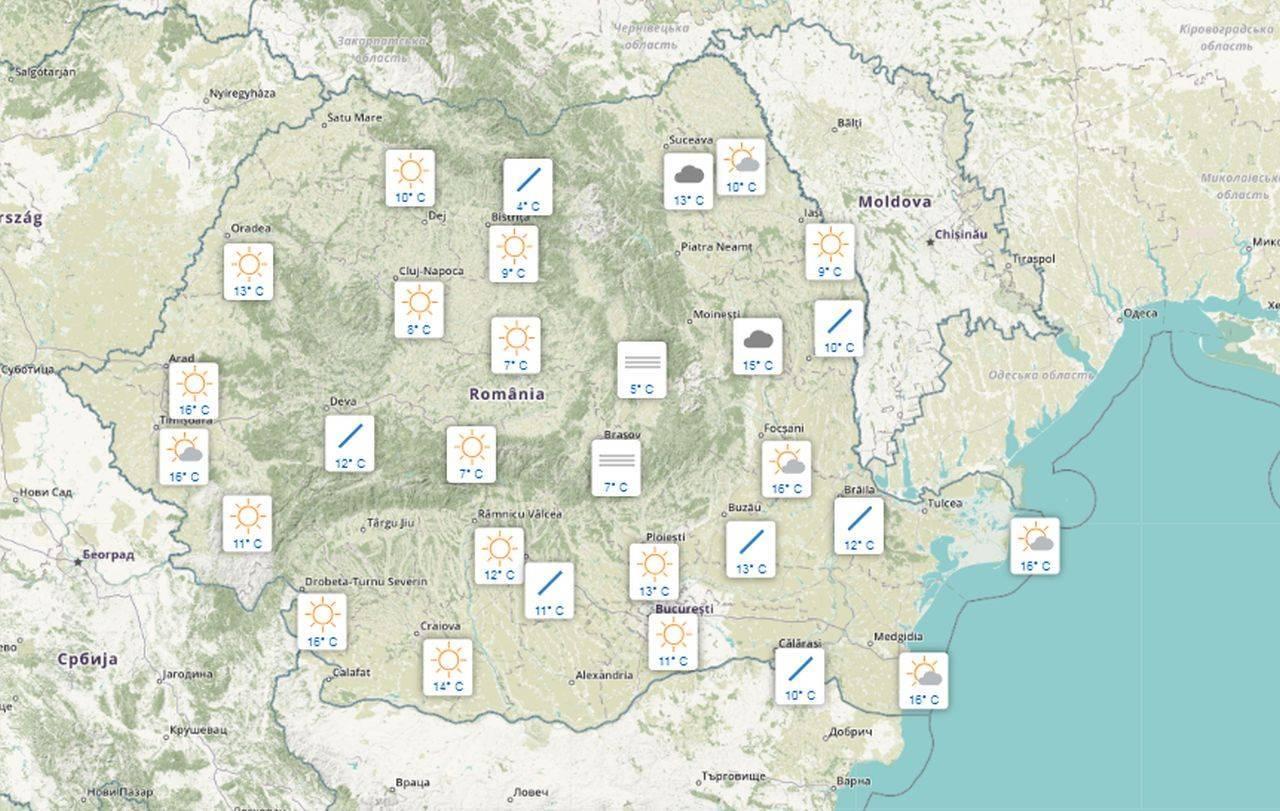 Meteo 27 septembrie. Vremea intră într-un nou proces de răcire, în România