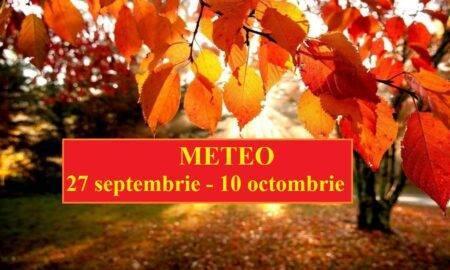 Prognoza meteo 27 septembrie – 10 octombrie. Meteorologii anunță schimbări majore în teritoriu
