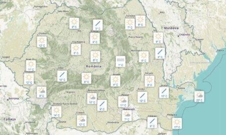 Meteo 9 septembrie. Iată cum va fi vremea în România, în următoarele 12 ore, în fiecare regiune