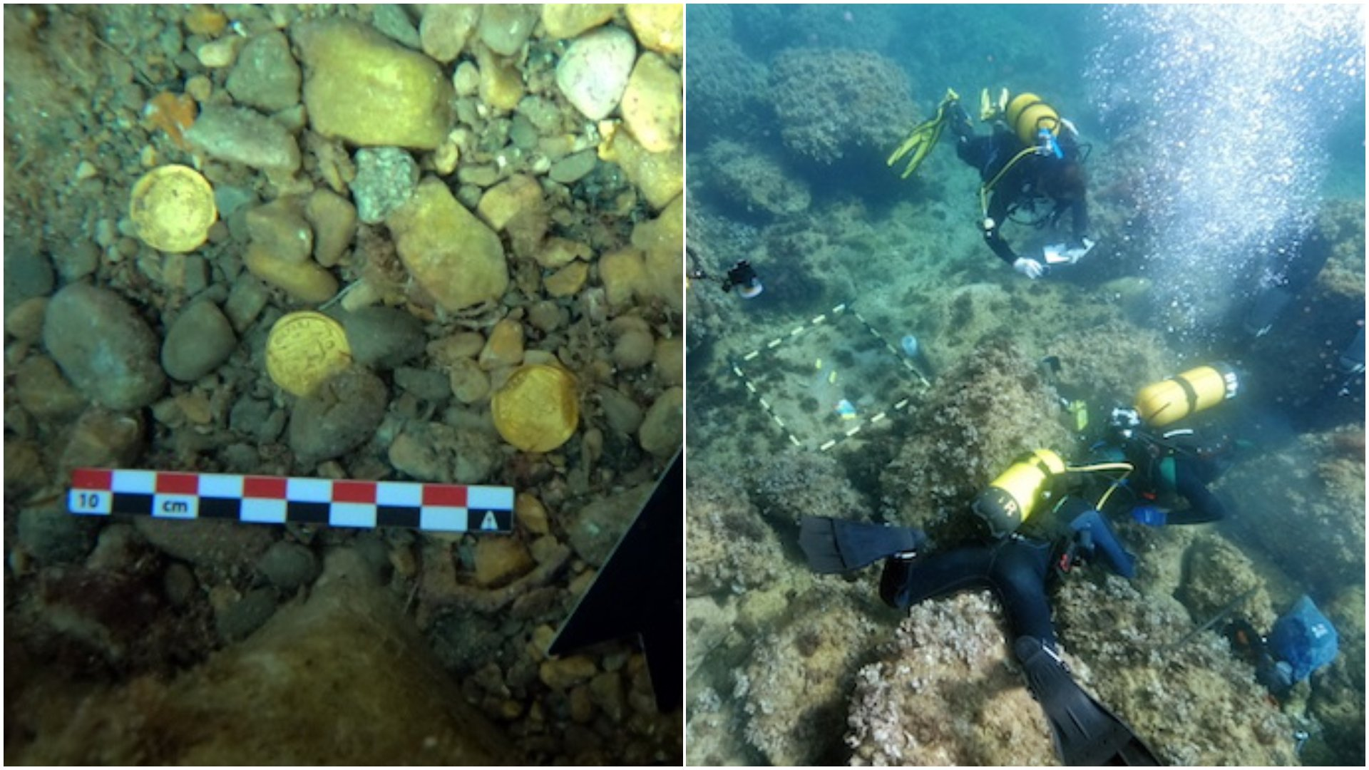 Moment istoric în Europa! A fost descoperită mai mare colecție de monede de aur, din Imperiul Roman