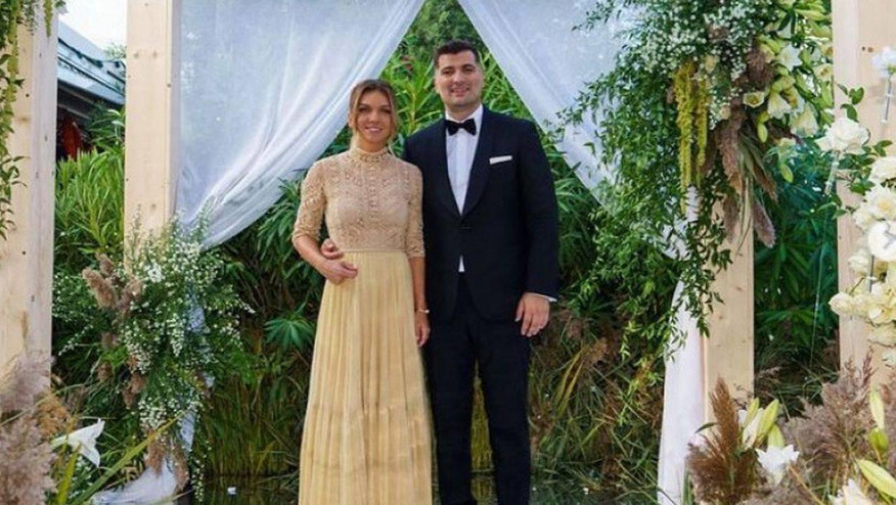 Simona Halep, primele declarații legate de căsătoria cu Toni Iuruc