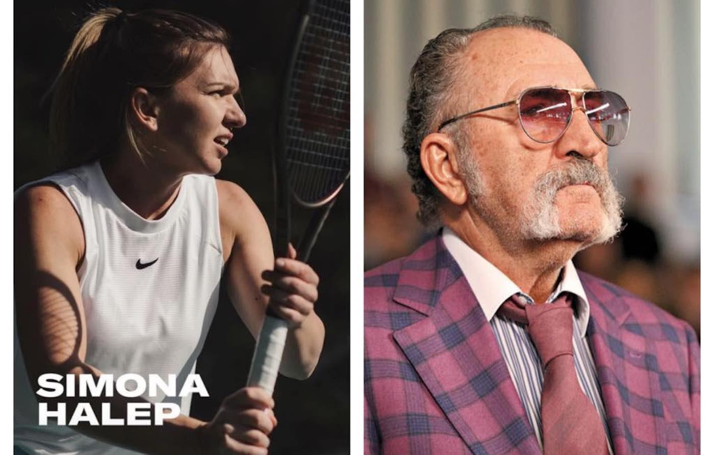 Simona Halep, cadou special făcut de Ion Țiriac. Mesajul primit din partea fostului mare jucător de tenis