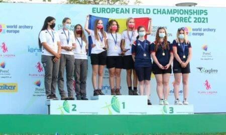 România se întoarce de la Campionatele Europene cu patru medalii
