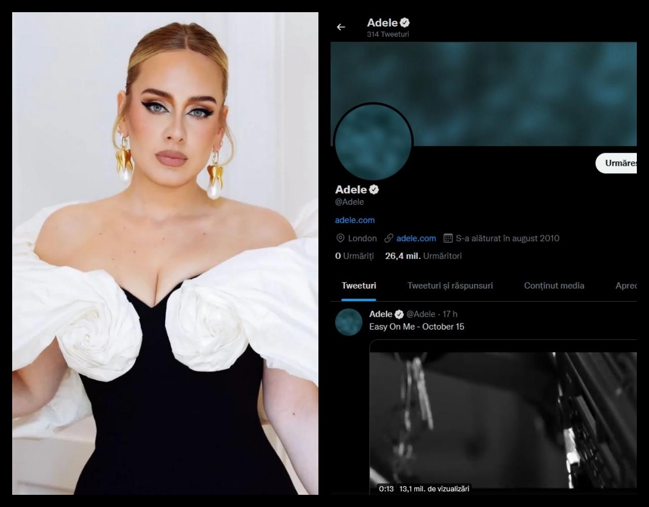 Adele revine cu o nouă piesă ce promite să aibă același succes ca cele precedente. Artista a dezvăluit un mic fragment