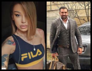 Alex Bodi și Ema Uta formează un nou cuplu în rândul vedetelor. Cum au fost surprinși cei doi