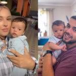 Culiță Sterp și iubita sa, Daniela Iliescu, l-au botezat ieri pe Milan Sterp. Iată primele imagini de la eveniment
