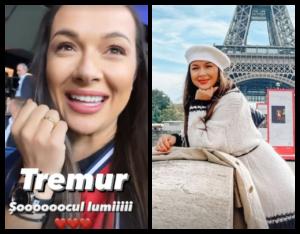 Întâlnire de gradul 0. Alături de cine a apărut Vlăduța Lupău într-un filmuleț recent postat pe Instagram