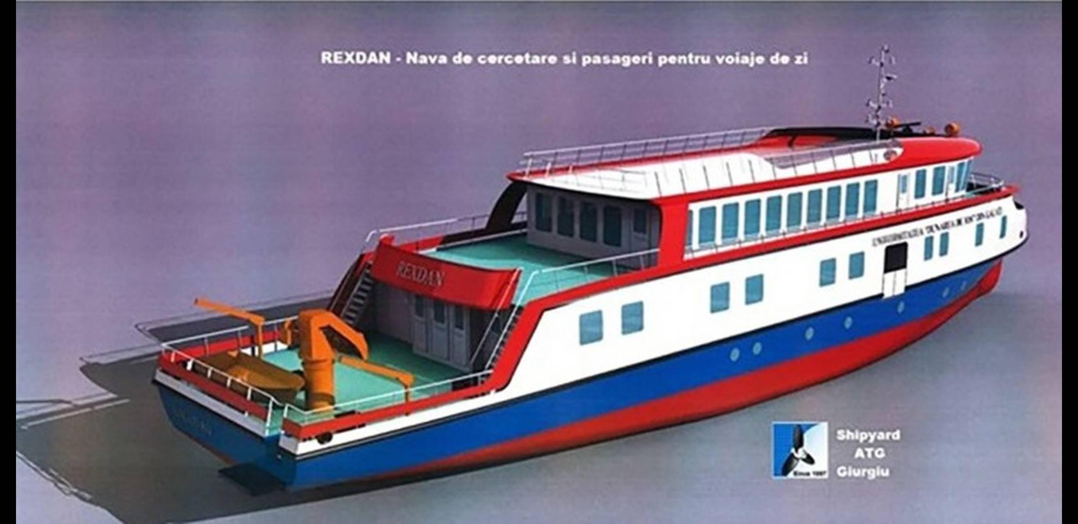 România va avea cea mai mare navă de cercetare de pe apele interioare UE
