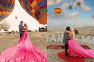 Primele imagini de la cererea în căsătorie a Andei Adam. Poze de vis de la un moment special din viața artistei