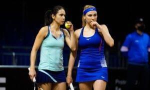 Zi neagră pentru Raluca Olaru şi Nadia Kicenok. Cele două au pierdut prima rundă de la Courmayeur