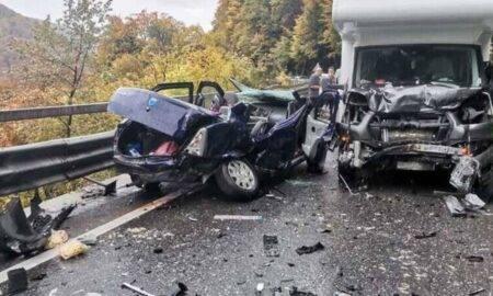 Grav accident rutier produs în această după amiază, pe Valea Prahovei! Mai multe victime sunt implicate