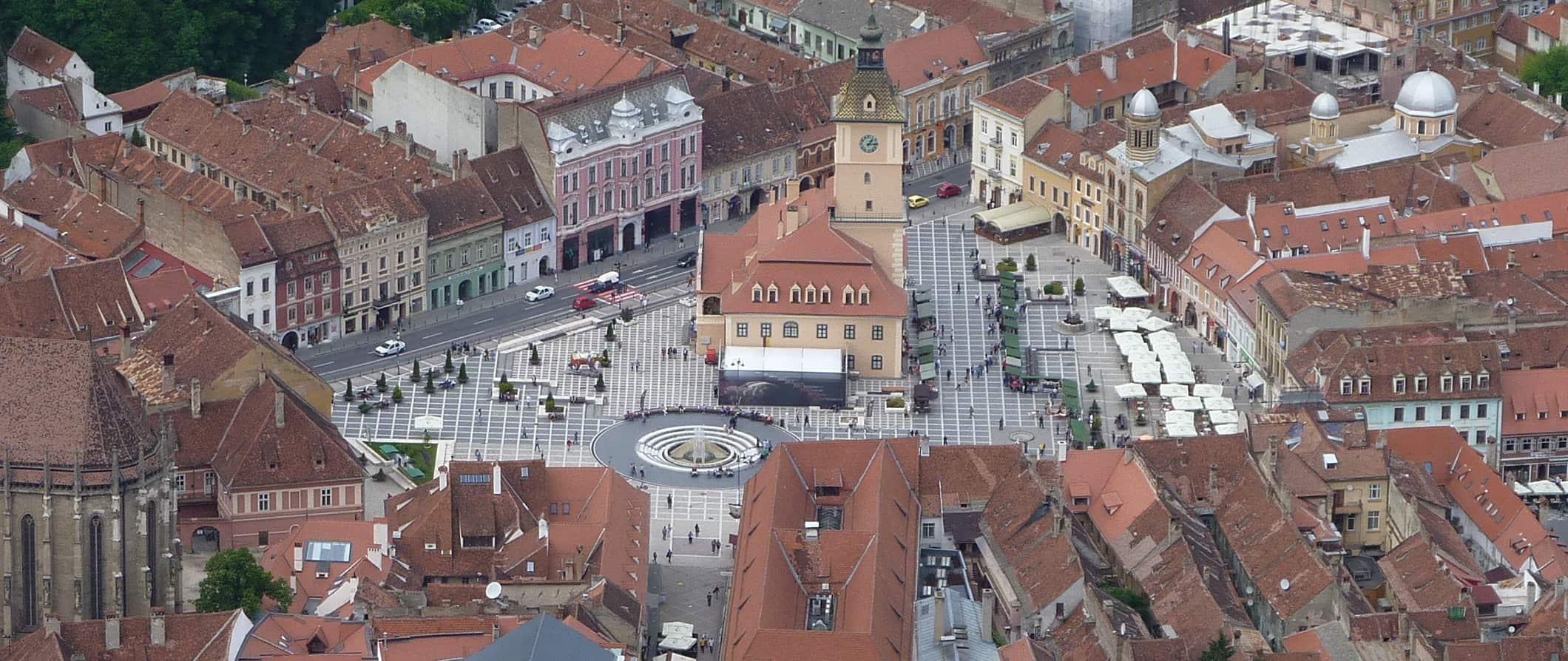 În centrul orașului Brașov, viteza de circulație s-a limitat la 30 de kilometri pe oră