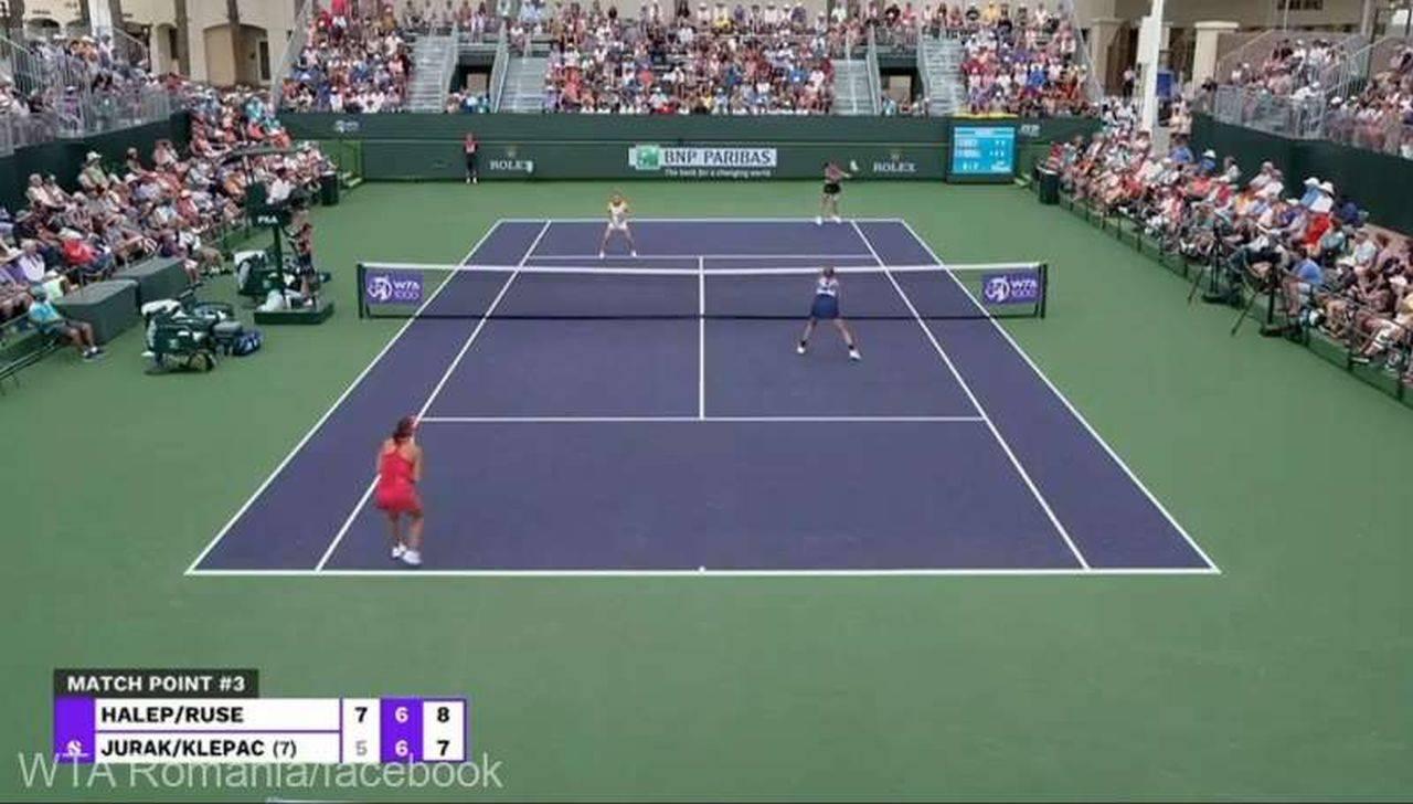 Simona Halep și Gabriela Ruse s-au calificat în optimile de finală de la Indian Wells