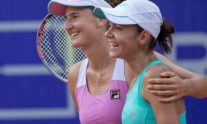 Rezultate istorice pentru Irina Begu și Andreea Mitu! Cele două sportive s-au calificat la dublu, la Cluj