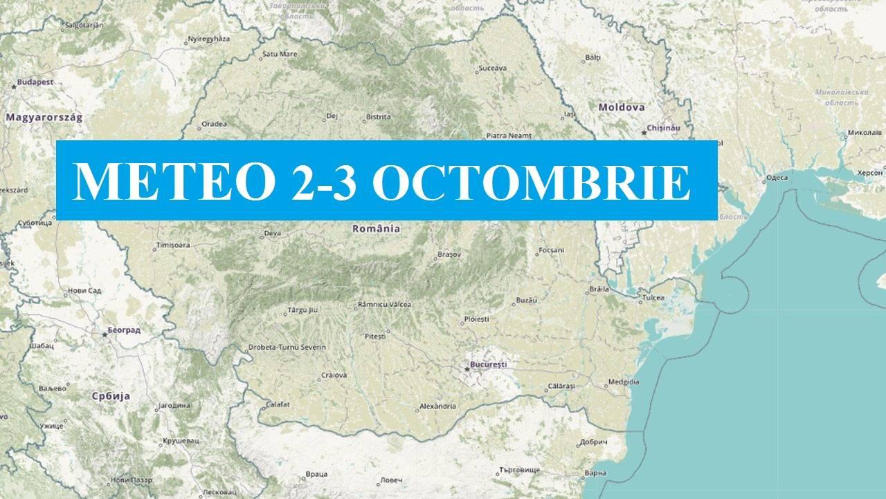 Meteo de weekend. ANM anunță cum va fi vremea românilor pe 2 și 3 octombrie
